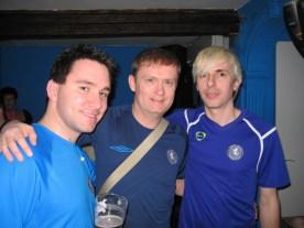 Mike, me and Simon