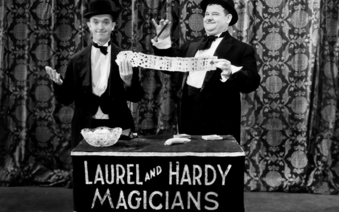 The magic of Laurel & Hardy