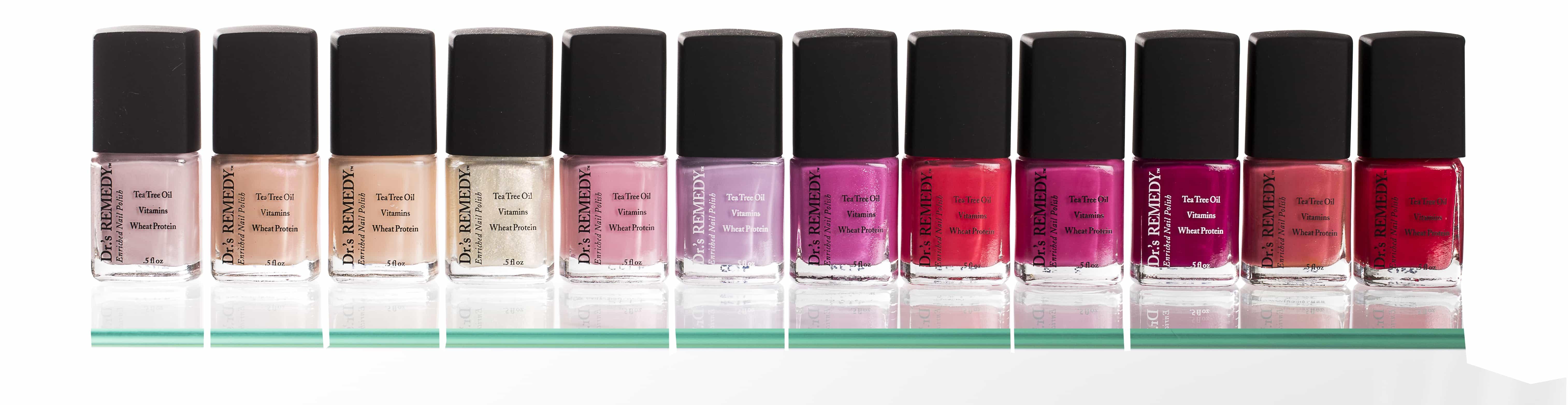 Drs Remedy Nailcare Nail Polish Colours