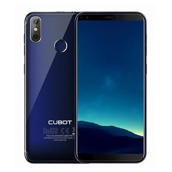 banggood Cubot R11 MTK6580 1.3GHz 4コア BLUE(ブルー)