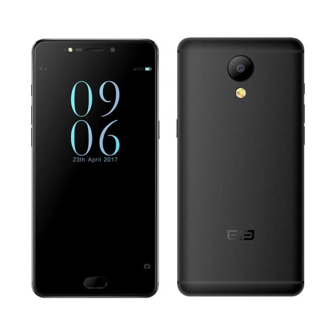 banggood Elephone P8  MTK6757T Helio P25 2.5GHz 8コア BLACK(ブラック)