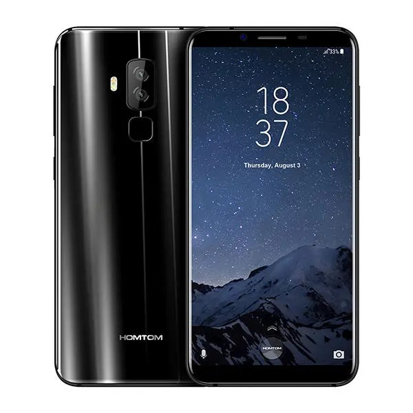 banggood HOMTOM S8 MTK6750T 1.5GHz 8コア BLACK(ブラック)