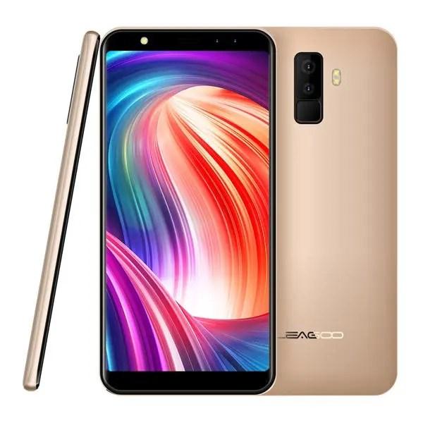 banggood LEAGOO M9 3G MTK6580A 1.3GHz 4コア GOLD(ゴールド)