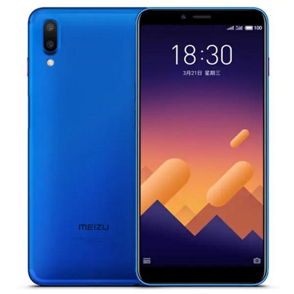 banggood Meizu E3 Snapdragon 636 SDM636 8コア BLUE(ブルー)