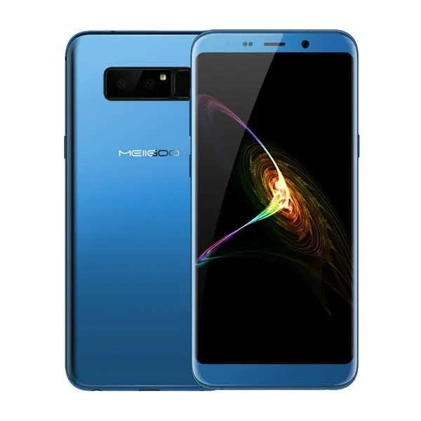 banggood MEIIGOO Note 8 MTK6750T 1.5GHz 8コア BLUE(ブルー)