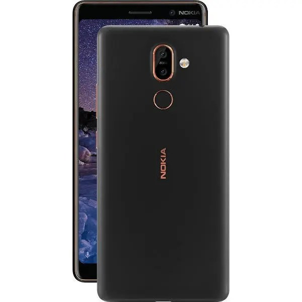 banggood Nokia 7 Plus Snapdragon 660 MSM8956 Plus 2.2GHz 8コア BLACK(ブラック)
