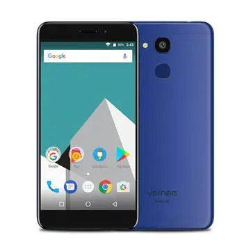 banggood Vernee M5 MTK6750 1.5GHz 8コア BLUE(ブルー)
