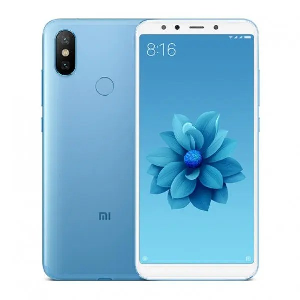banggood Xiaomi Mi 6X Snapdragon 660 MSM8956 Plus 2.2GHz 8コア BLUE(ブルー)