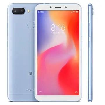 banggood Xiaomi Redmi 6 MTK6762 Helio P20 2.0GHz 8コア BLUE(ブルー)