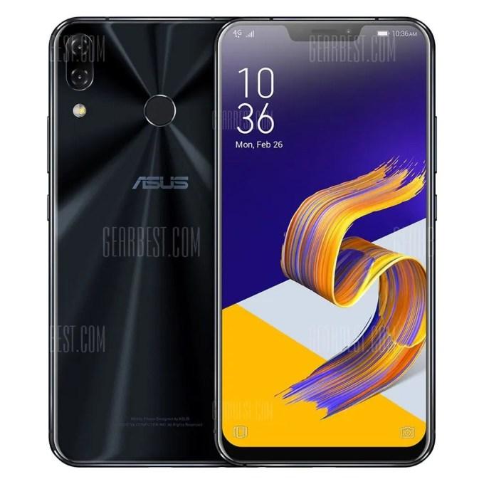 gearbest ASUS ZenFone 5Z Snapdragon 845 SDM845 2.8GHz 8コア BLACK(ブラック)