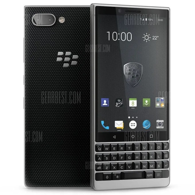 gearbest BlackBerry KEY 2 Snapdragon 660 MSM8956 Plus 2.2GHz 8コア SILVER(シルバー)