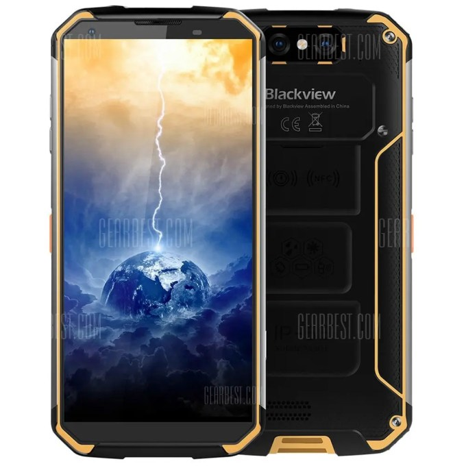 Blackview BV9500 MTK6763T 2.0GHz 8コア
