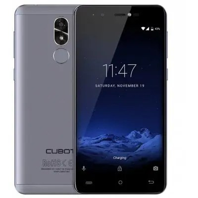gearbest CUBOT R9 3G MTK6580 1.3GHz 4コア BLUE(ブルー)