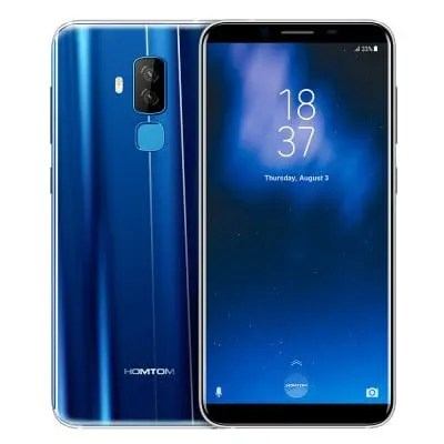 gearbest HOMTOM S8 MTK6750T 1.5GHz 8コア BLUE(ブルー)