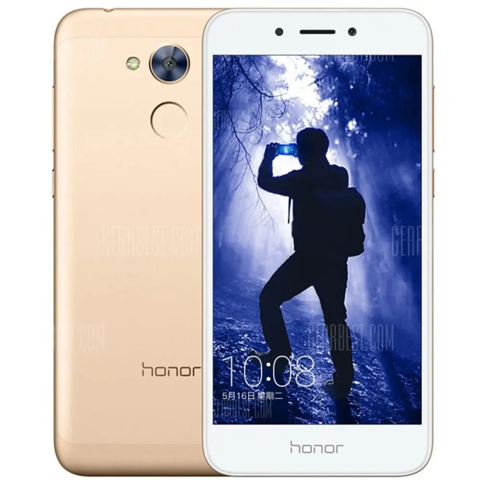 gearbest HUAWEI Honor 6A Snapdragon 430 MSM8937 1.4GHz 8コア GOLDEN(ゴールデン)