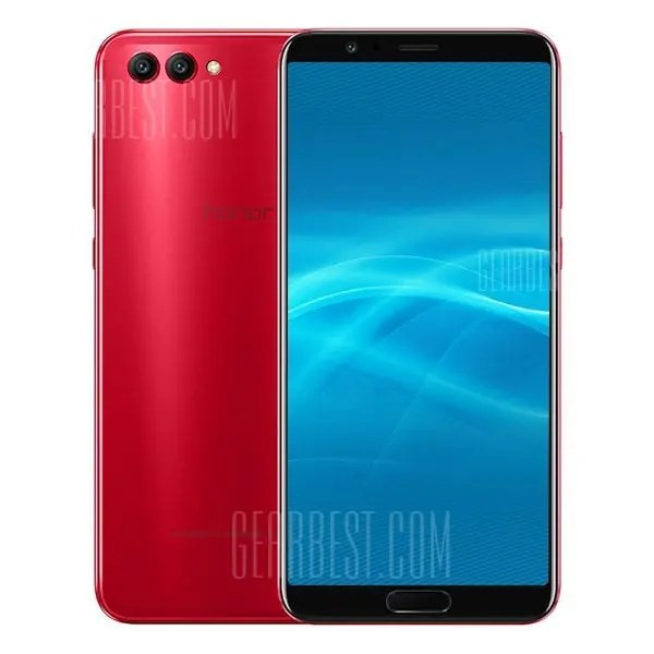 gearbest Huawei Honor V10 Kirin 970 2.4GHz 8コア RED(レッド)