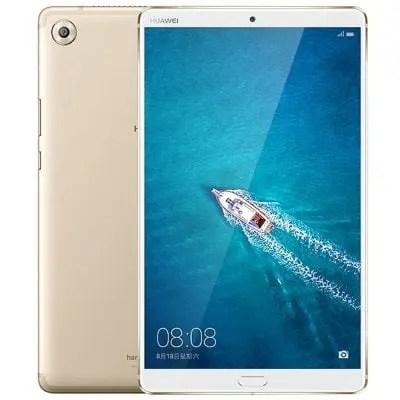 gearbest Huawei MediaPad M5 (CMR-W09,SHT-W09) Kirin 960s 2.1GHz 8コア,Kirin 960 2.4GHz 8コア CHAMPAGNE(シャンペン)