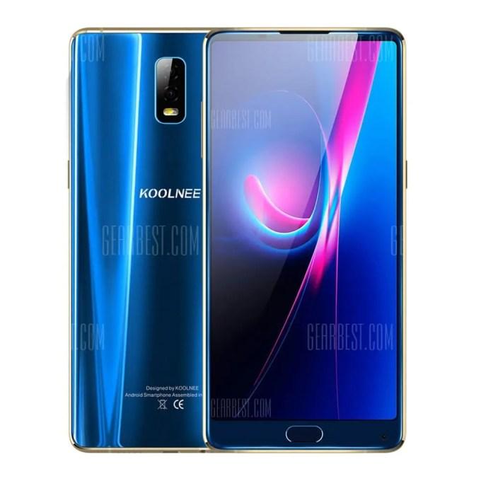gearbest KOOLNEE K1 MTK6750T 1.5GHz 8コア BLUE(ブルー)