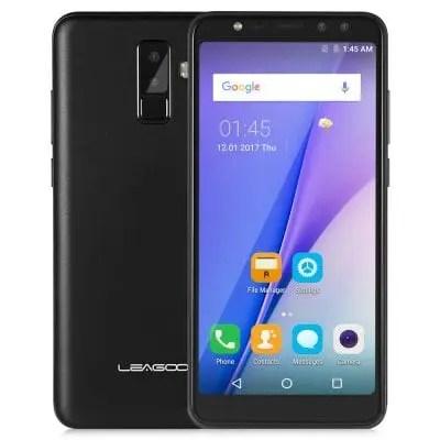 gearbest LEAGOO M9 3G MTK6580A 1.3GHz 4コア BLACK(ブラック)