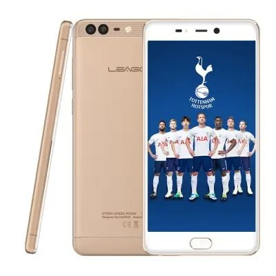 gearbest LEAGOO T5c SC9853 1.8GHz 8コア CHAMPAGNE GOLD(シャンペンゴールド)