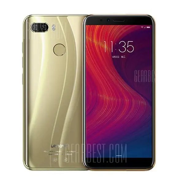 gearbest Lenovo K5 Play Snapdragon 430 MSM8937 1.4GHz 8コア GOLD(ゴールド)