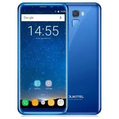 gearbest Oukitel K5000 MTK6750T 1.5GHz 8コア BLUE(ブルー)