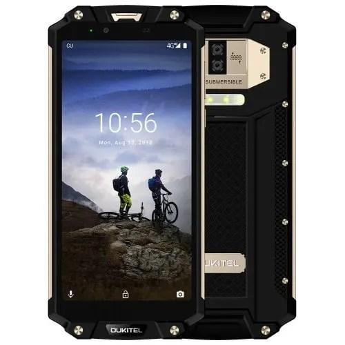 gearbest OUKITEL WP2 MTK6750T 1.5GHz 8コア SILVER(シルバー)