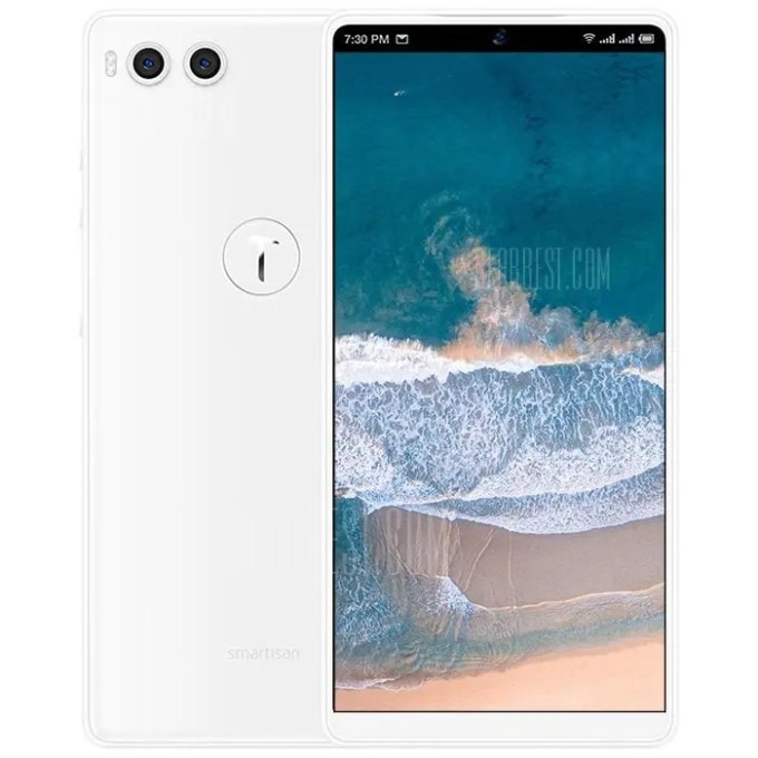 gearbest Smartisan Nut R1 Snapdragon 845 SDM845 2.8GHz 8コア WHITE(ホワイト)