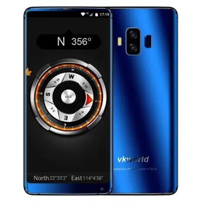 gearbest vkworld S8 MTK6750T 1.5GHz 8コア BLUE(ブルー)