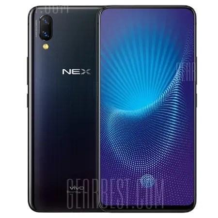 gearbest Vivo NEX Snapdragon 710 SDM710 2.2GHz 8コア,Snapdragon 845 SDM845 2.8GHz 8コア BLACK(ブラック)