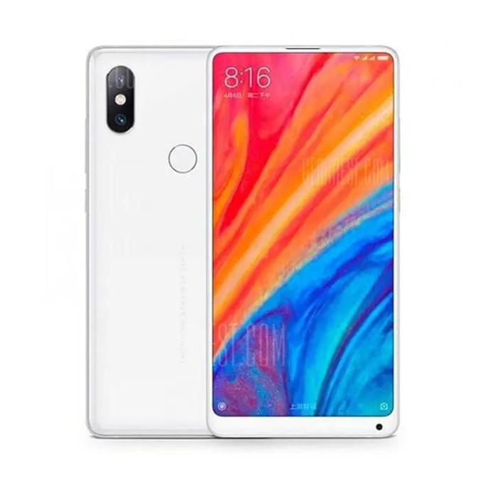 gearbest Xiaomi Mi Mix 2S Snapdragon 845 SDM845 2.8GHz 8コア WHITE(ホワイト)