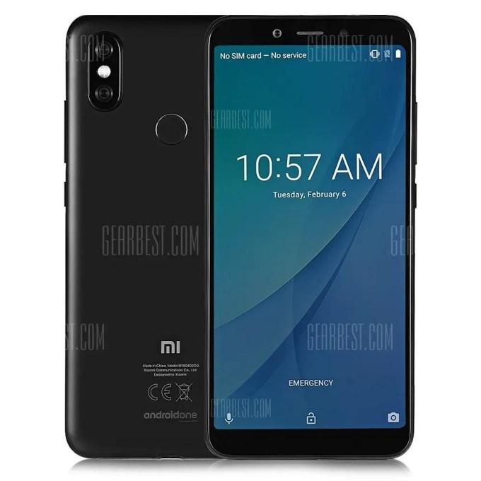 gearbest Xiaomi Mi A2 Snapdragon 660 MSM8956 Plus 2.2GHz 8コア BLACK(ブラック)