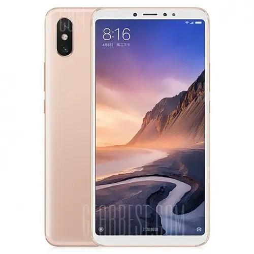 gearbest Xiaomi Mi Max 3 Snapdragon 636 SDM636 8コア PINK(ピンク)