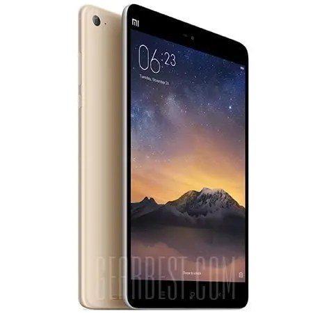 gearbest Xiaomi Mi Pad 4 Snapdragon 660 MSM8956 Plus 2.2GHz 8コア CHAMPAGNE(シャンペン)