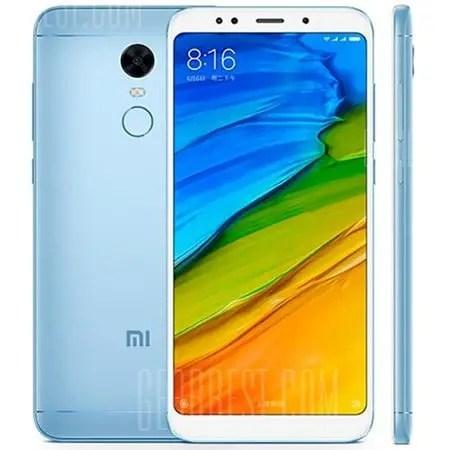 gearbest Xiaomi Redmi 5 Plus Snapdragon 625 MSM8953 2.0GHz 8コア BLUE(ブルー)