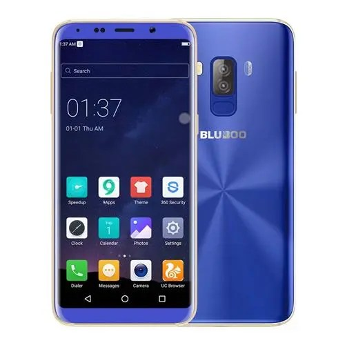 geekbuying Bluboo S8 MTK6750T 1.5GHz 8コア BLUE(ブルー)