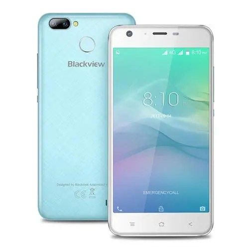 geekbuying Blackview A7 Pro MTK6737 1.3GHz 4コア BLUE(ブルー)
