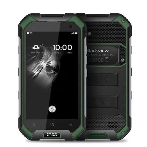 geekbuying BV6000 MTK6755 Helio P10 2.0GHz 8コア GREEN(グリーン)