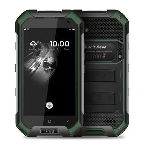 geekbuying Blackview BV6000S MTK6735 1.3GHz 4コア GREEN(グリーン)