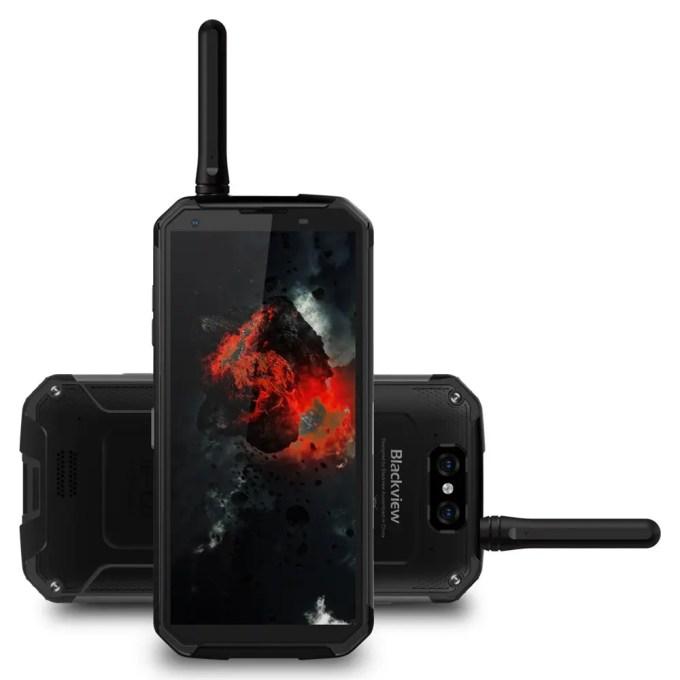 geekbuying Blackview BV9500 Pro MTK6763 Helio P23 2.0GHz 8コア BLACK(ブラック)