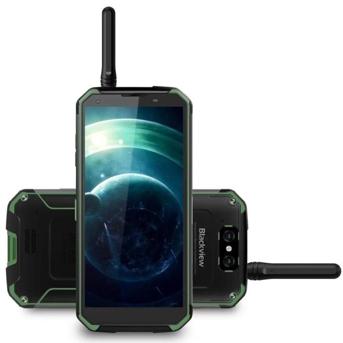 geekbuying Blackview BV9500 Pro MTK6763 Helio P23 2.0GHz 8コア GREEN(グリーン)