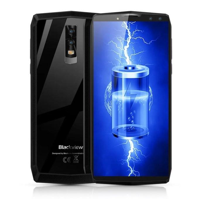 geekbuying Blackview P10000 Pro MTK6763 Helio P23 2.0GHz 8コア BLACK(ブラック)
