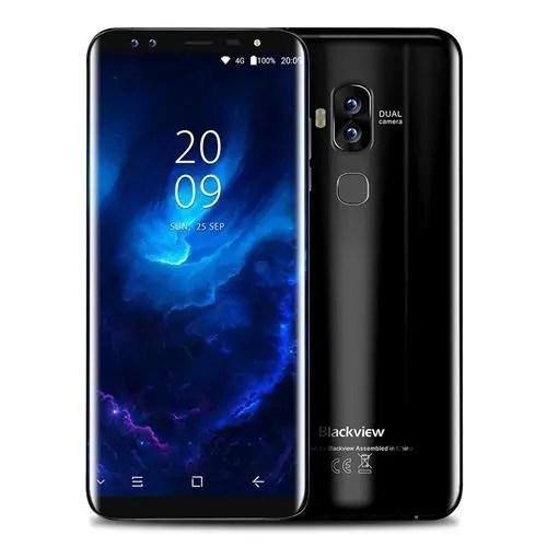 geekbuying Blackview S8 MTK6750T 1.5GHz 8コア BLACK(ブラック)