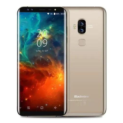 geekbuying Blackview S8 MTK6750T 1.5GHz 8コア GOLD(ゴールド)