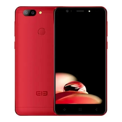 geekbuying Elephone P8 3D MTK6757T Helio P25 2.5GHz 8コア RED(レッド)