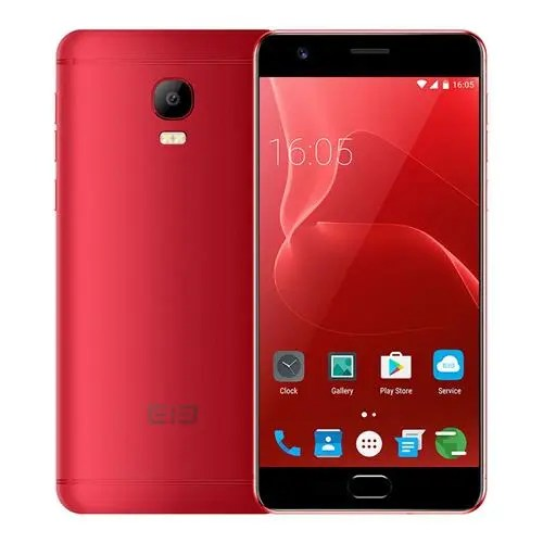 geekbuying ELEPHONE P8 Max MTK6750T 1.5GHz 8コア RED(レッド)