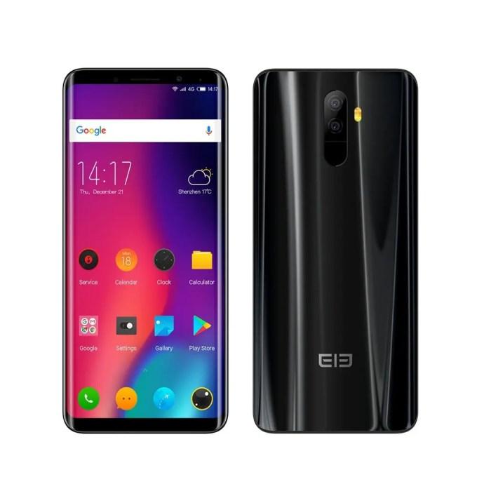 geekbuying Elephone U MTK6763T 2.0GHz 8コア BLACK(ブラック)