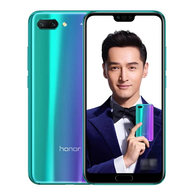 geekbuying Huawei Honor 10 Kirin 970 2.4GHz 8コア PURPLE(パープル)