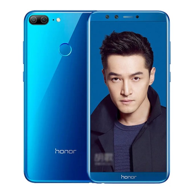 geekbuying Huawei Honor 9 Lite Kirin 659 2.36GHz 8コア BLUE(ブルー)
