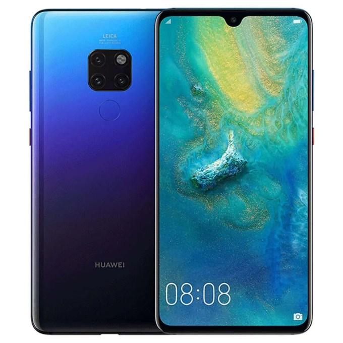 geekbuying Huawei Mate 20 Kirin 980 8コア SILVER(シルバー)